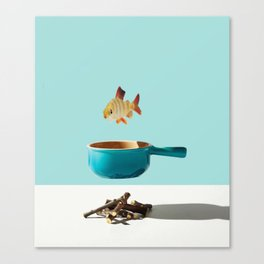 Minimal Food Mix Canvas Print