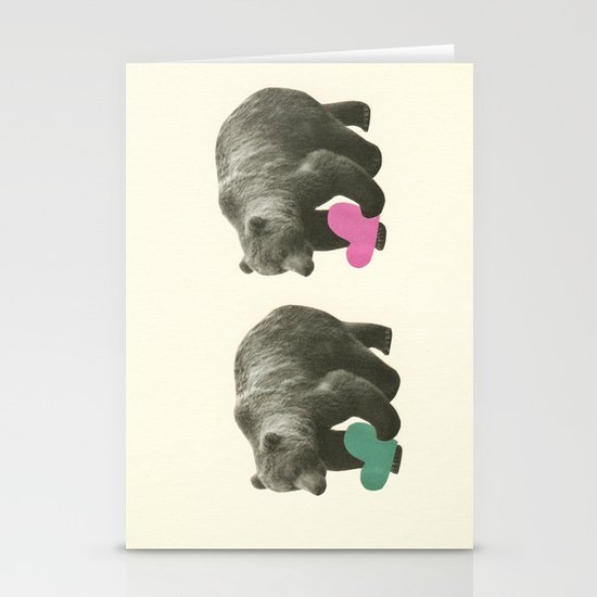A Bear Romance Stationery Cards