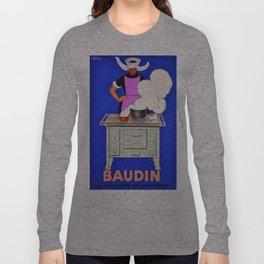 Vintage poster - Baudin Long Sleeve T-shirt