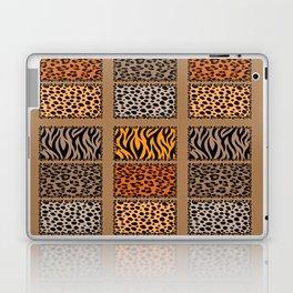 Wild Cats Jungle Print Laptop & iPad Skin