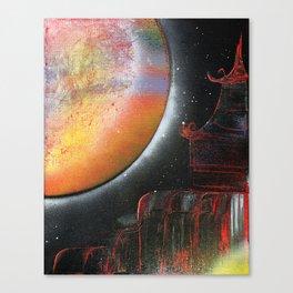 Moonrise part 1 Canvas Print