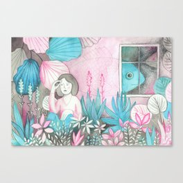 Poissons Canvas Print