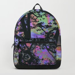Nature is upset with us Backpack