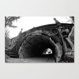 Into the Tunnels Canvas Print