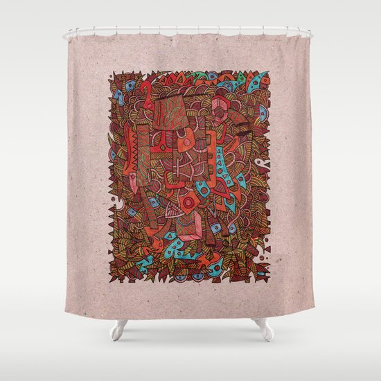 - antiques - Shower Curtain