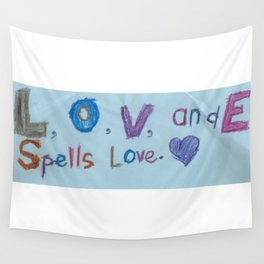 Sami's Art (age 7) Wall Tapestry