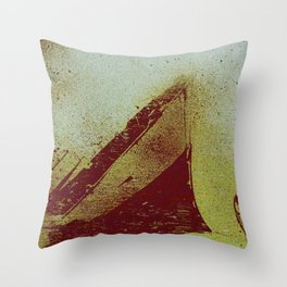 All The Ships Had Holes Throw Pillow