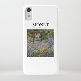 Monet - The Artist's Garden at Giverny iPhone Case