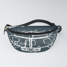 Helicopter Fanny Pack