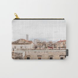 Naples rooftops with clouds Carry-All Pouch
