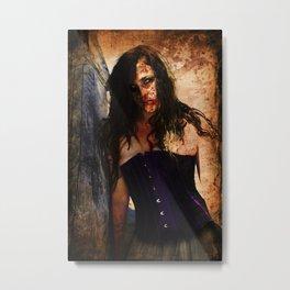 Shipwreck Zombie Metal Print