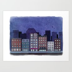 Apartments Art Print