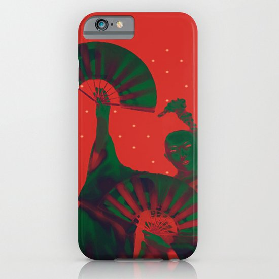 Geisha Snow iPhone & iPod Case