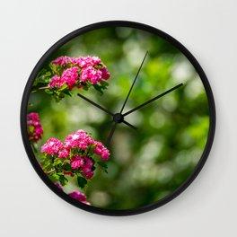 Spring. Wall Clock