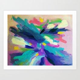 Active Colors Art Print