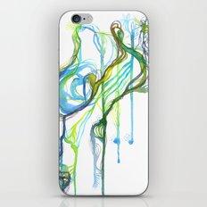 Aqua Trickle iPhone & iPod Skin
