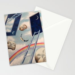 Ladders Stationery Cards
