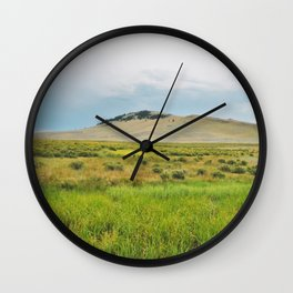 Flood Plains Wall Clock
