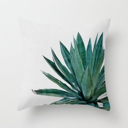 Agave Cactus Throw Pillow