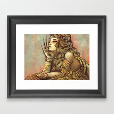 Zodiac Sign: Leo Framed Art Print