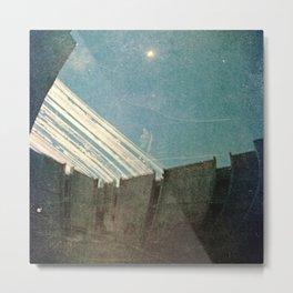 retrospective on the terrace Metal Print