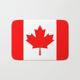 Flag of Canada - Authentic High Quality image Bath Mat