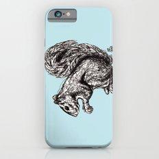Blue Woodland Creatures - Squirrel Slim Case iPhone 6s