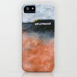 OK LA (Hollywood Sign) iPhone Case
