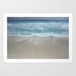 Carribean sea 5 Art Print