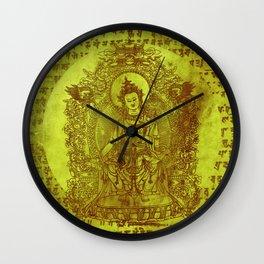 The Enlightened (Green) Wall Clock