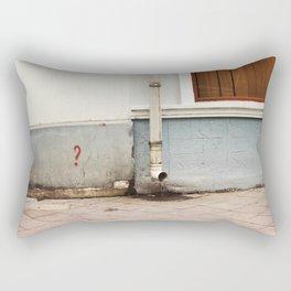 no answer Rectangular Pillow