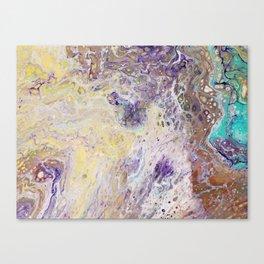 A pop of purple Canvas Print