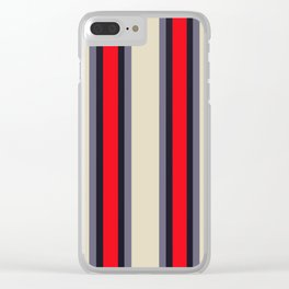 Classic Lines Clear iPhone Case