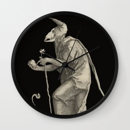 The Fool Wall Clock