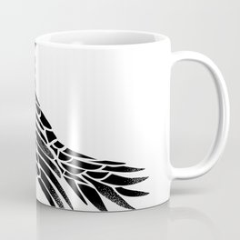 Raven Flying Side Tattoo Coffee Mug