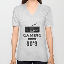 Gaming Since the 80's Unisex V-Neck