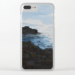 Giants Causeway Clear iPhone Case