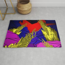 AUTOMATIC WORM 6 Rug