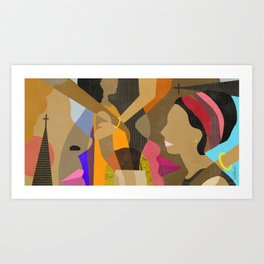 The Mothers Art Print