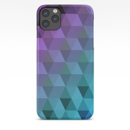 Flight of the Triangles iPhone Case