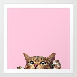 Bye Cat! Art Print