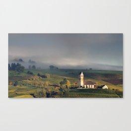 Swiss Vineyards 2 Canvas Print