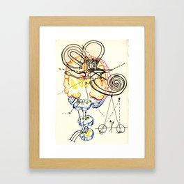 Sensory Systems 5 Framed Art Print