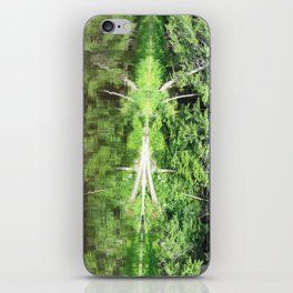 With arms Outstretched iPhone Skin