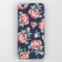Vitage Roses iPhone Skin