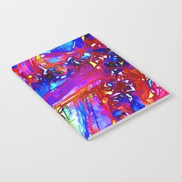 Jewel Tone Gemstone Impressions Notebook