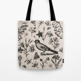 The Natural World Tote Bag