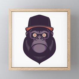 Hypno Gorilla Framed Mini Art Print
