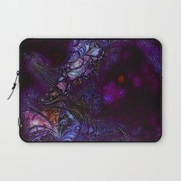 Bird of Paradise in Deep Purple Laptop Sleeve