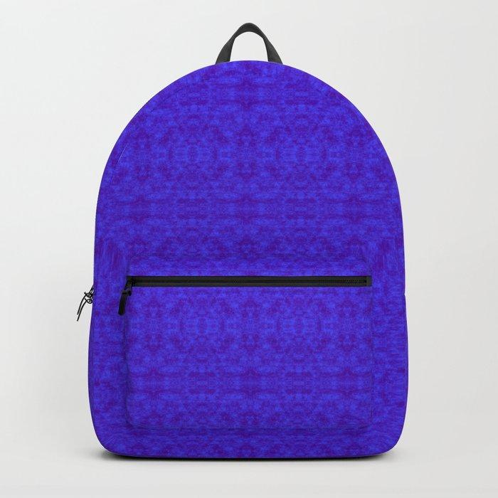 royal blue damask Backpack